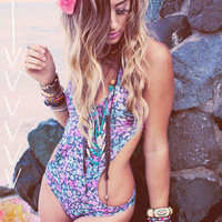 AS Seen In DISFUNKSHION Magazine: Create your own PEARL Monokini Halter Bathing Suit