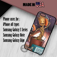 Cute Groot Guardian of the Galaxy iPhone 7 7+ 6s 6 SE Cases Samsung Galaxy S7 edge S6 S5 NOTE 7 5 4 3