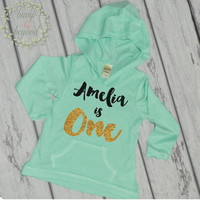 First Birthday Outfit Girl 1st Birthday Shirt Girl 1 Year Old Birthday Shirt Girl One Year Old Birthday Girl Hoodie 1st Birthday Outfit 102