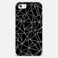 Abstraction Outline Black and White #2 iPhone 5s case by Project M   Casetify
