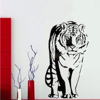 """Tiger Wall Decals Sticker Art Room Decor for Room 23.6"""" X 39.3"""""""