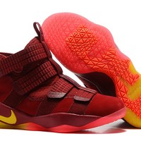"""Nike LeBron Soldier 11 EP """"Playoff"""" Basketball Shoes US7-12"""