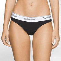 modern cotton thong | Calvin Klein