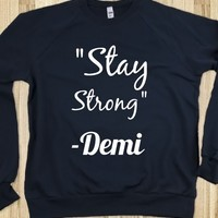 """Demi Lovato """"Stay Strong"""""""