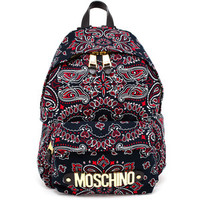 MOSCHINO Paisley Backpack