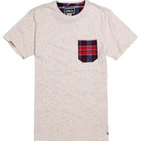 Modern Amusement Nep Plaid Pocket T-Shirt - Mens Tee
