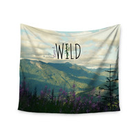 "Robin Dickinson ""Keep it Wild"" Wall Tapestry"