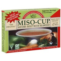 Edward & Sons Savory Seaweed Miso Soup Mix, 2.5 oz (Pack of 12) - Walmart.com