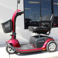 Victory 10 3-Wheel Scooter SC610 - Pride Mobility 3-Wheel Midsize Scooters   TopMobility.com