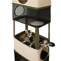 "Cat Tower Hanging Hideout -  22.5"" X 12"" X 64"""