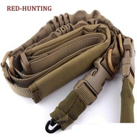 Hunting Combat Gun Sling Tactical Nylon 2 Point Rifle Sling to Airsoft Paintball with Shoulder Strap