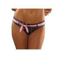 Wilderness Dreams Swim Women's Camo Pink Belted Bottom - Mossy Oak - 606321