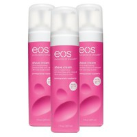 EOS Pomegranate Raspberry Shave Cream Set - 3 Pack
