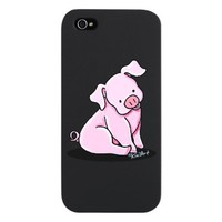 Pretty Little Piggie iPhone 5 Case on CafePress.com