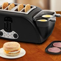 4 Slice Egg & Muffin Toaster @ Sharper Image