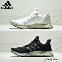 Adidas Futurecraft Print 4D shock absorption men's sports shoes casual shoes