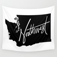 The PNW Wall Tapestry by Caleb Swenson