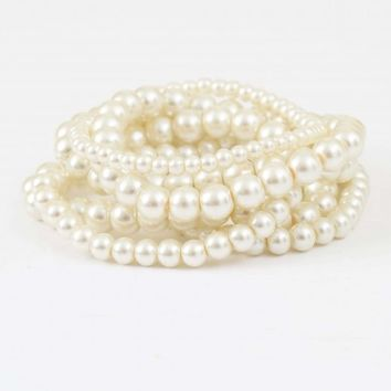 Altar'd State Pretty in Pearls Bracelet | Altar'd State