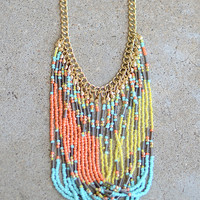 Breaking Waves Necklace