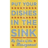 Put Your Dishes in the Sink