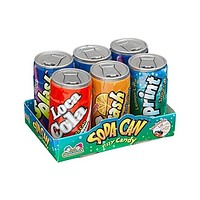Sour Soda Cans Candy