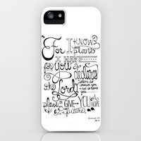 Jeremiah 29:11 iPhone Case by Shannon Sutton | Society6