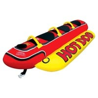 Airhead Hot Dog Towable - Red/Black/Yellow