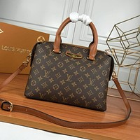 lv louis vuitton womens leather shoulder bag satchel tote bags crossbody 497