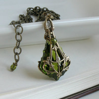 Mariah's Birthright Aged Brass and Olivine by HarlequinRomantique