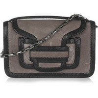 Pierre Hardy | Leather clutch | NET-A-PORTER.COM