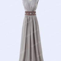 BEADED Sexy Long Bridesmaid Evening Prom Dresses WEDDING GOWN Cocktail Plus Size