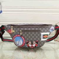 *Gucci* Fashion Shoulder Bag Single Bag Waist Bag