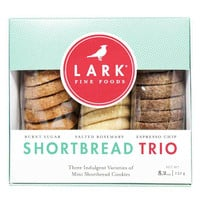 Burnt Sugar, Salted Rosemary & Espresso Chip Shortbread by Lark Fine Foods
