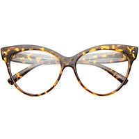 Women's Retro 1950's Cat Eye Clear Lens Glasses A099