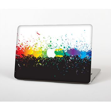 The Rainbow Paint Spatter Skin for the Apple MacBook Air 13""