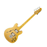 Fender Modern Player Starcaster Bass with Maple Fretboard - Natural at Hello Music