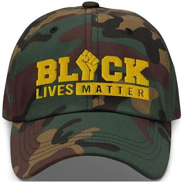 Black Lives Matter Yellow Edition Classic Dad Hat