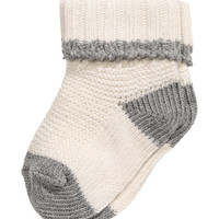 Cotton-blend Socks - from H&M