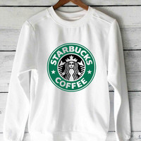 starbucks coffee sweater unisex adults