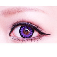 EOS Candy Magic King Size Violet Circle Lens Colored Contacts