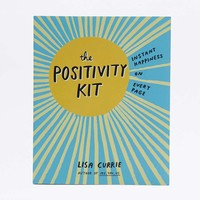 The Positivity Kit: Instant Happiness On Every Page Book - Urban Outfitters