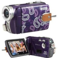DXG-532VV HD 720P CAMCORDER - PURPLE/VIOLET - LUXE COLLECTION