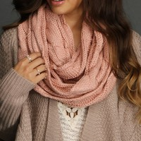 Sale-pink Multi Wear Scarf