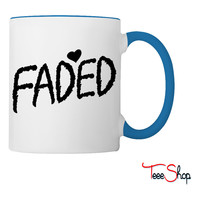 Faded Coffee & Tea Mug