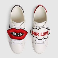 GUCCI Ace sneaker with removable patches-1