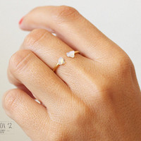 Opal ring, Opal jewelery,Gold Opal Ring, Stacking Ring, Minimalist Ring,Dainty Ring,White Opal, Gifts, Best Friend Gifts,Unique Gift for Her