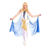 High Quality Sexy Fashion Egypt Cleopatra Costume For Halloween Adult Cosplay Dress For woman Fancy Dress For Party