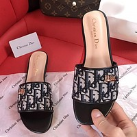 Dior summer new women's non-slip slippers shoes