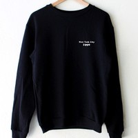 New York City 1990 Oversized Sweatshirt