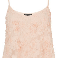 3D Floral Swing Cami Top - Jersey Tops - Clothing - Topshop